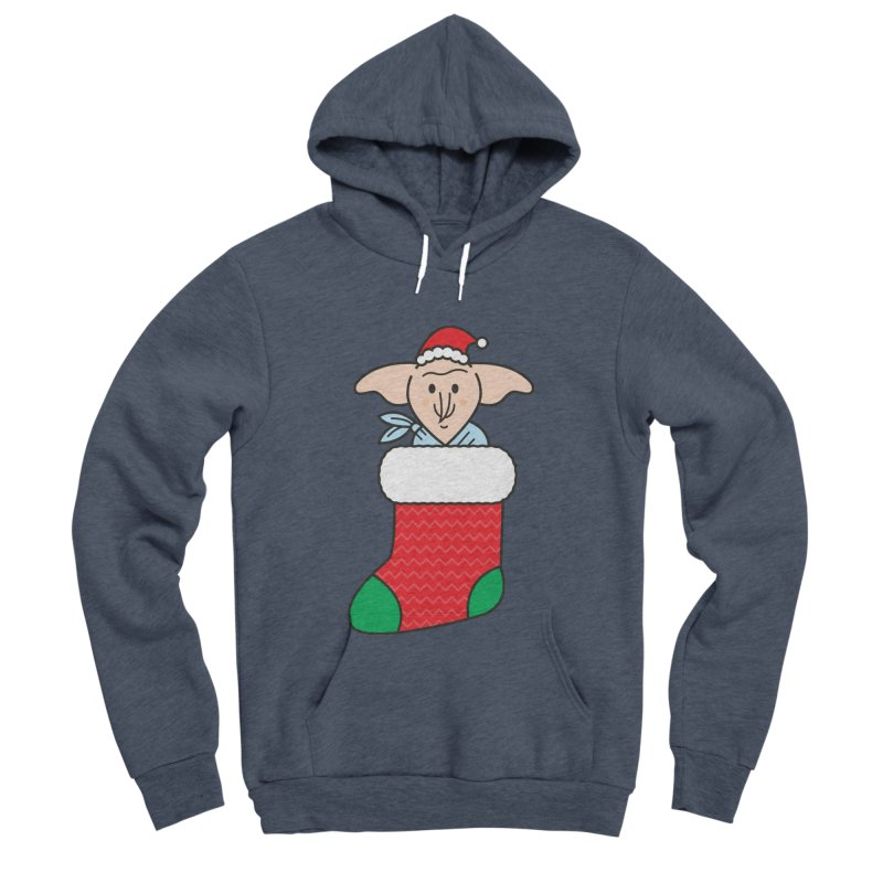 Xmas Elf Women's Sponge Fleece Pullover Hoody by Pepe Rodríguez