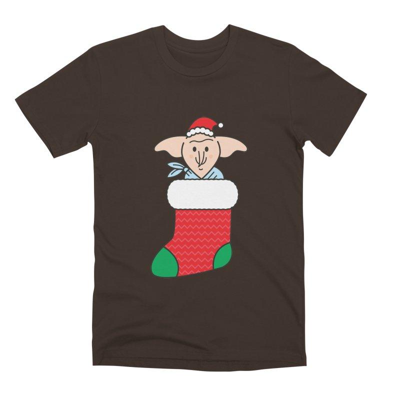 Xmas Elf Men's Premium T-Shirt by Pepe Rodríguez