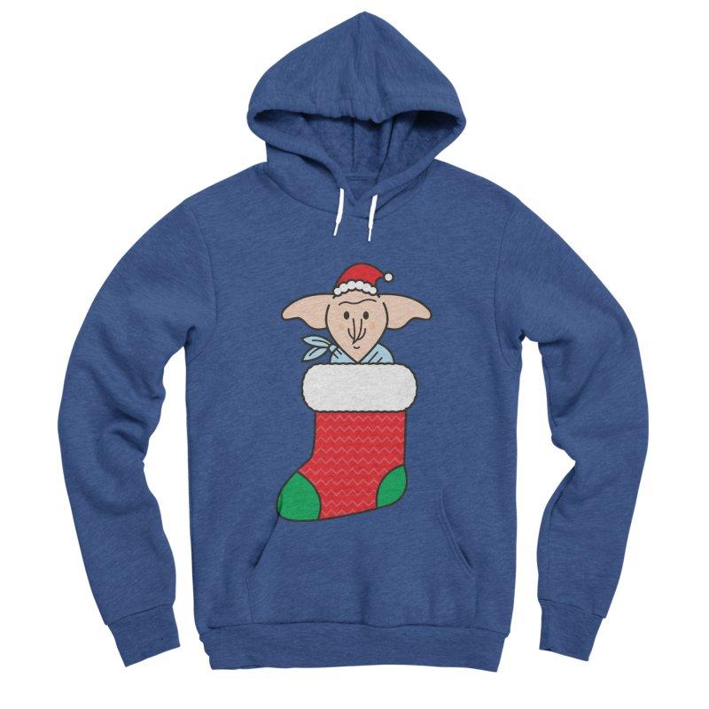 Xmas Elf Men's Sponge Fleece Pullover Hoody by Pepe Rodríguez