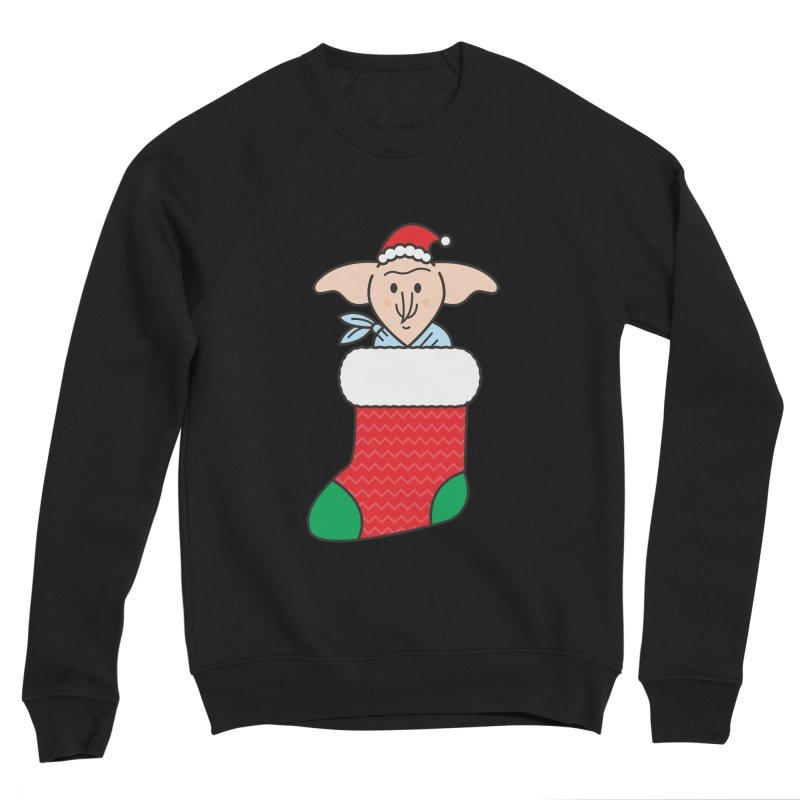 Xmas Elf Women's Sponge Fleece Sweatshirt by Pepe Rodríguez