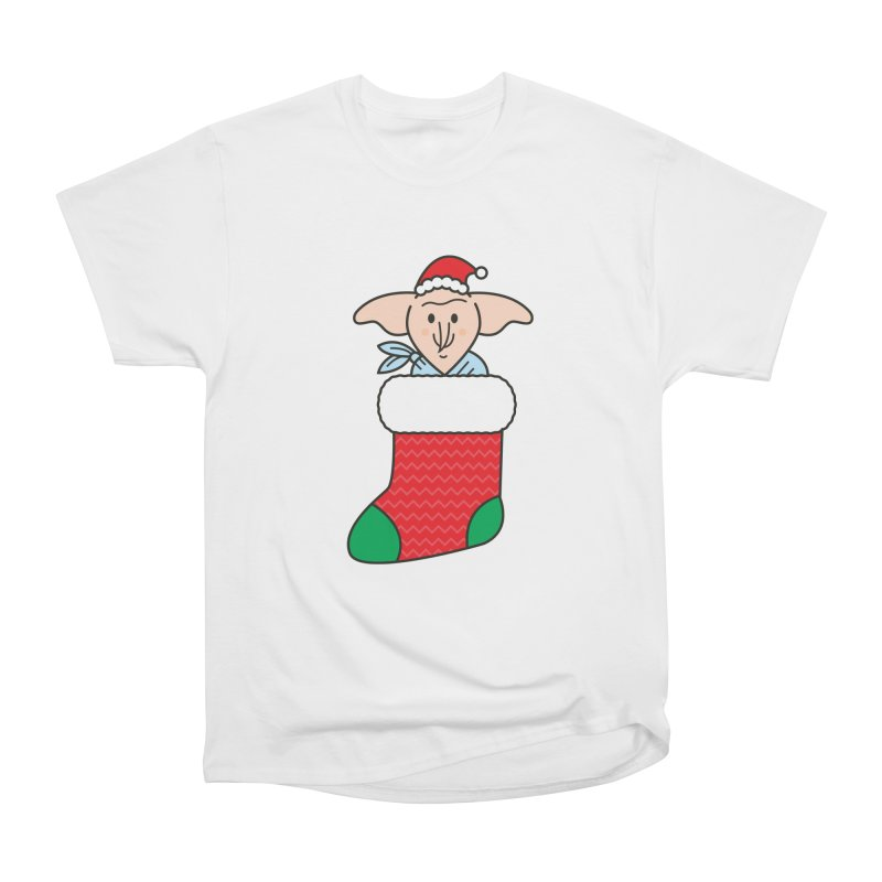 Xmas Elf Men's Heavyweight T-Shirt by Pepe Rodríguez