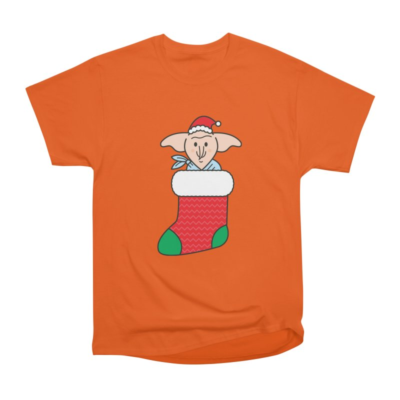 Xmas Elf Women's Heavyweight Unisex T-Shirt by Pepe Rodríguez