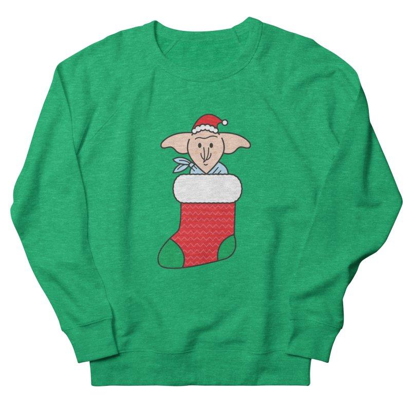 Xmas Elf Men's French Terry Sweatshirt by Pepe Rodríguez