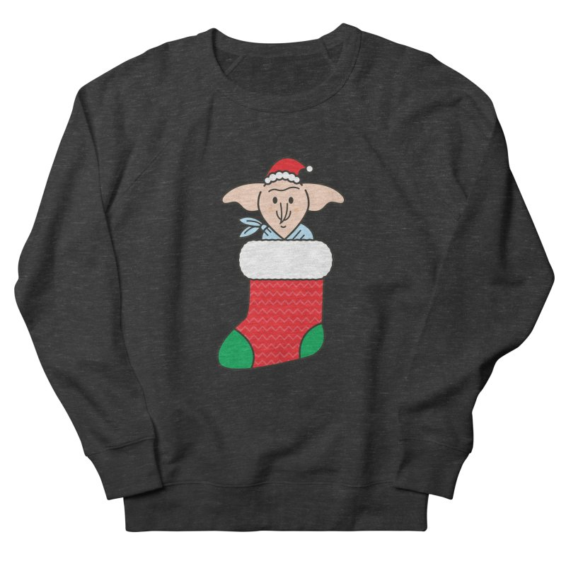 Xmas Elf Men's French Terry Sweatshirt by Pepe Rodríguez