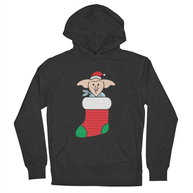 Xmas Elf Women's French Terry Pullover Hoody by Pepe Rodríguez