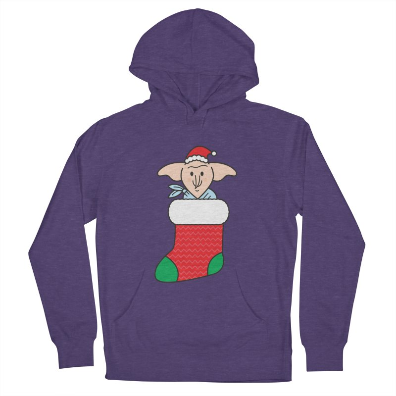 Xmas Elf Men's French Terry Pullover Hoody by Pepe Rodríguez