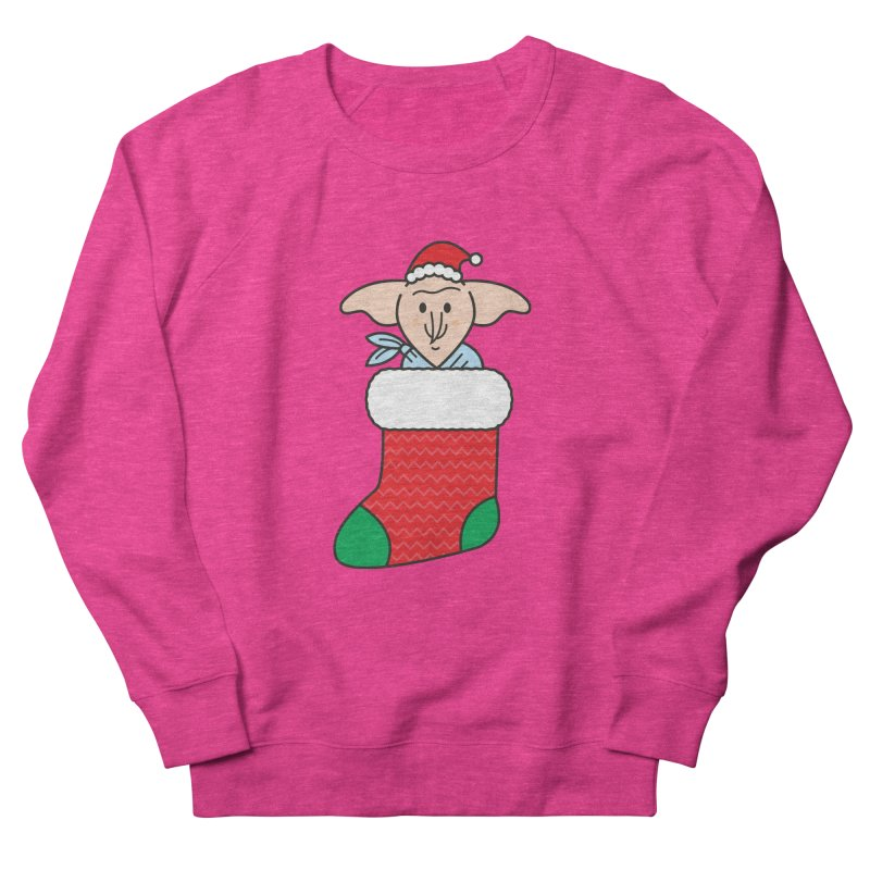 Xmas Elf Women's French Terry Sweatshirt by Pepe Rodríguez