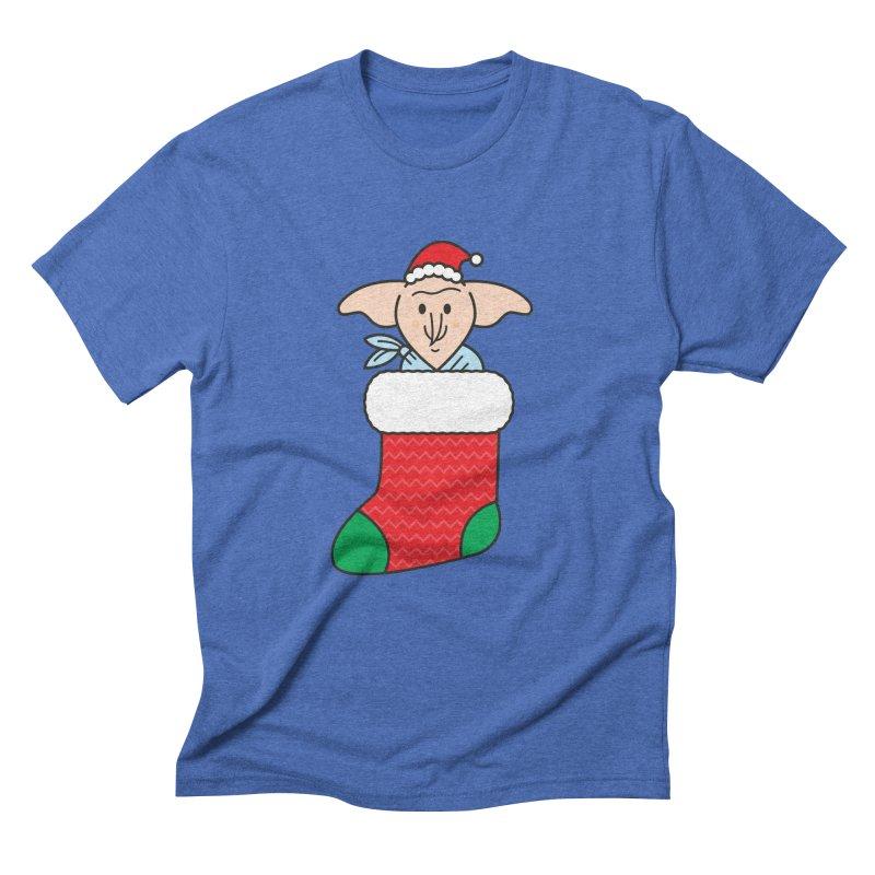 Xmas Elf Men's Triblend T-Shirt by Pepe Rodríguez