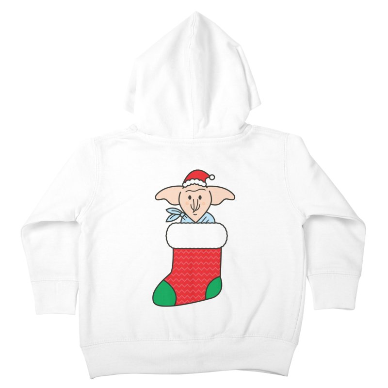 Xmas Elf Kids Toddler Zip-Up Hoody by Pepe Rodríguez