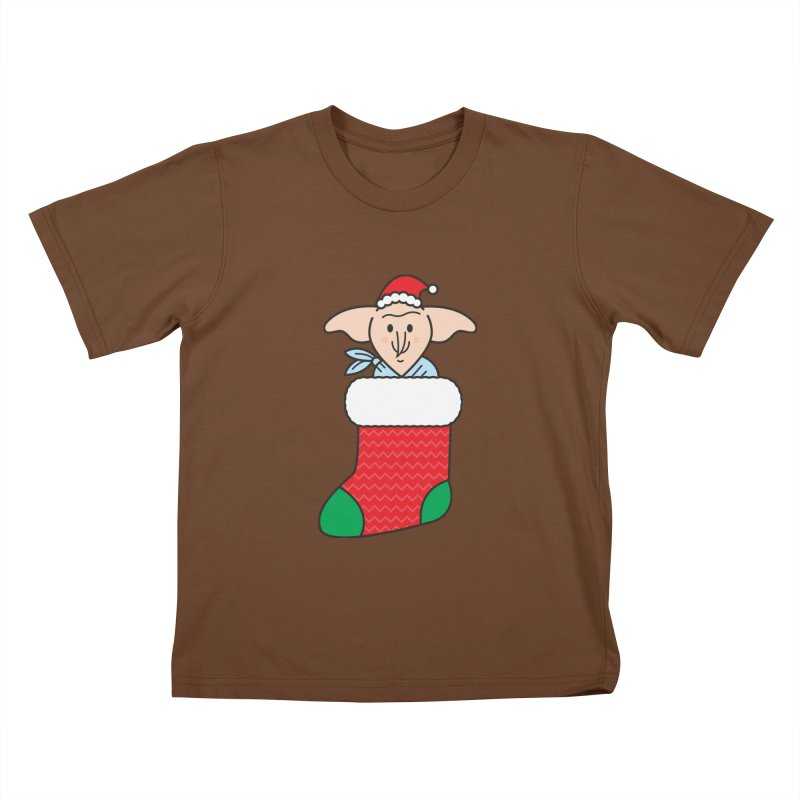 Xmas Elf Kids T-Shirt by Pepe Rodríguez