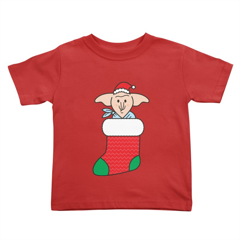 Xmas Elf Kids Toddler T-Shirt by Pepe Rodríguez