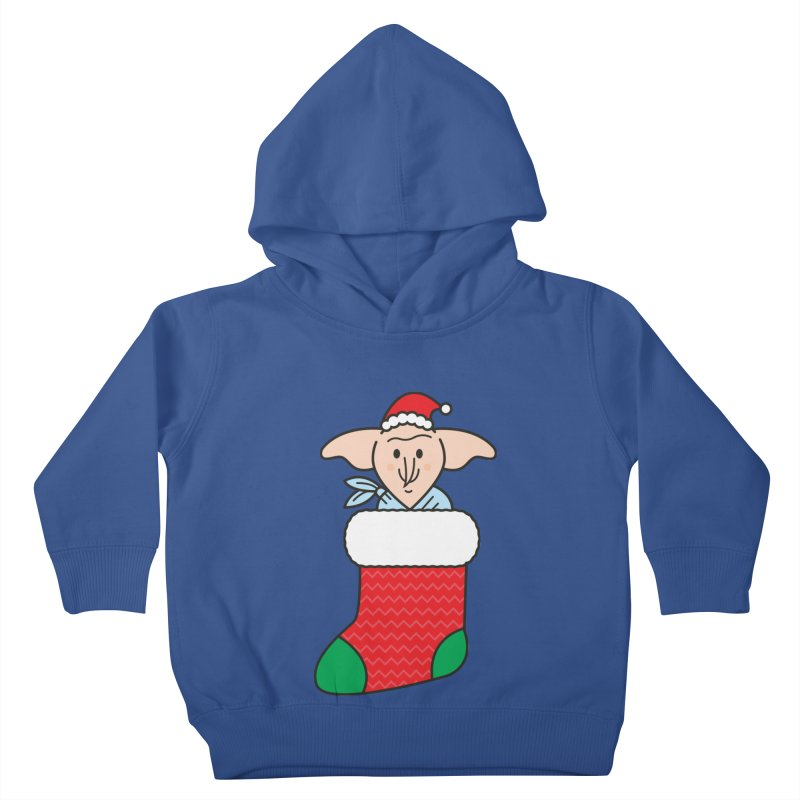 Xmas Elf Kids Toddler Pullover Hoody by Pepe Rodríguez