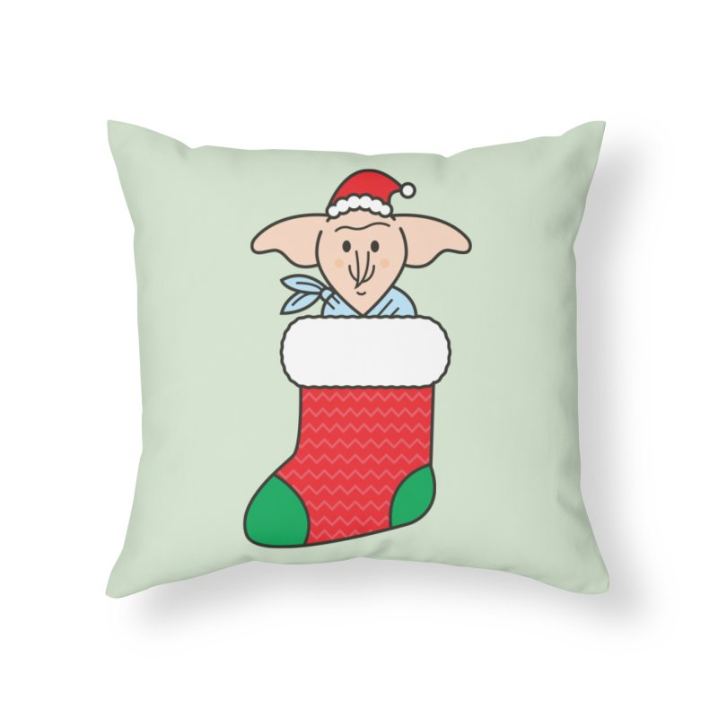 Xmas Elf Home Throw Pillow by Pepe Rodríguez