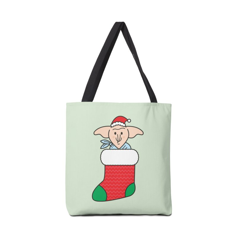 Xmas Elf Accessories Tote Bag Bag by Pepe Rodríguez