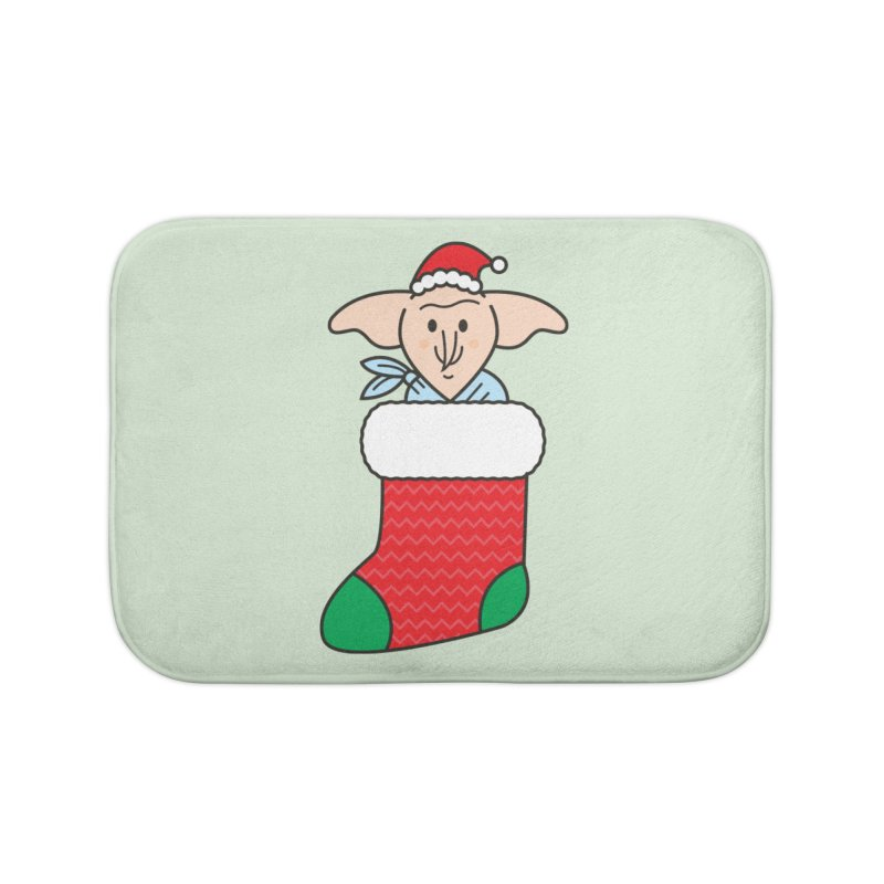 Xmas Elf Home Bath Mat by Pepe Rodríguez