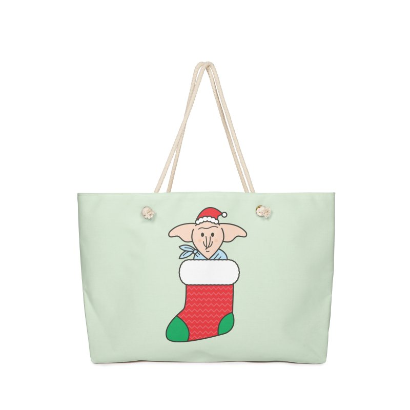 Xmas Elf Accessories Weekender Bag Bag by Pepe Rodríguez