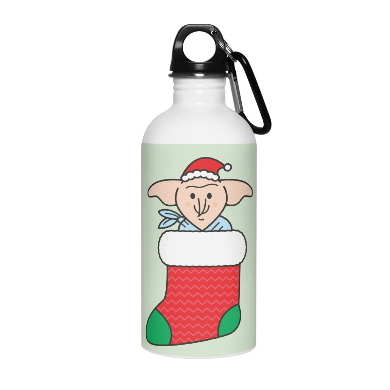 Xmas Elf Accessories Water Bottle by Pepe Rodríguez
