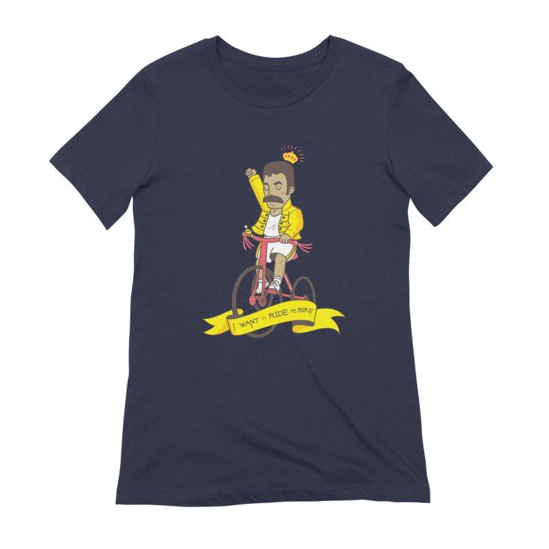 Queen Bike Women's Extra Soft T-Shirt by Pepe Rodríguez