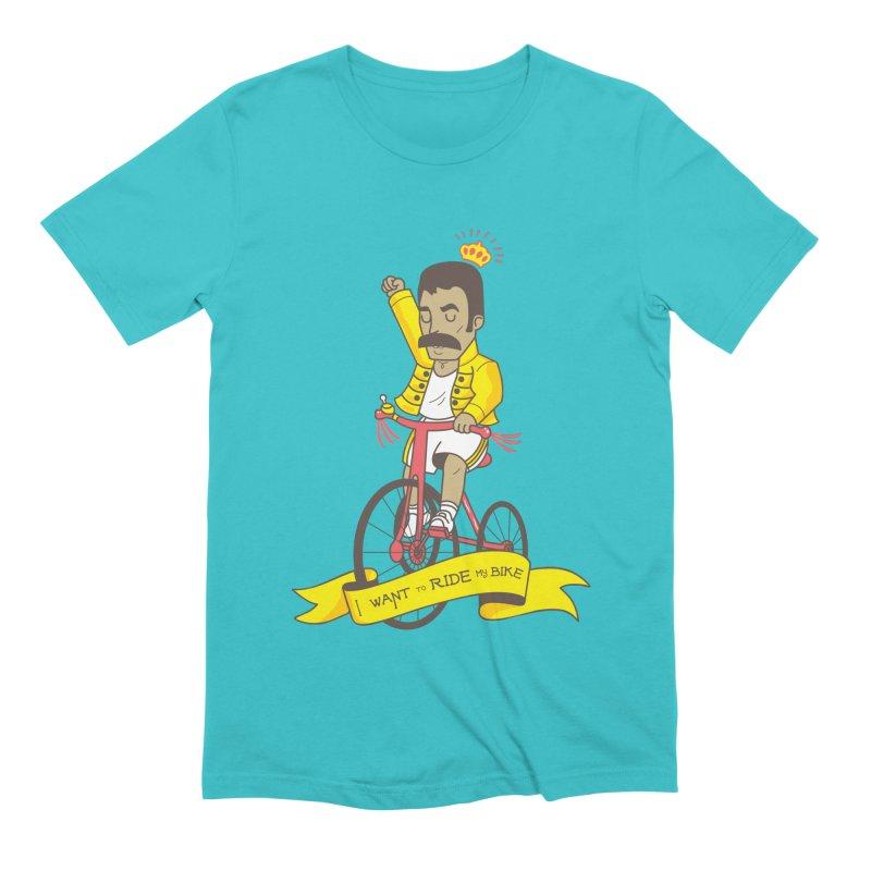 Queen Bike Men's Extra Soft T-Shirt by Pepe Rodríguez