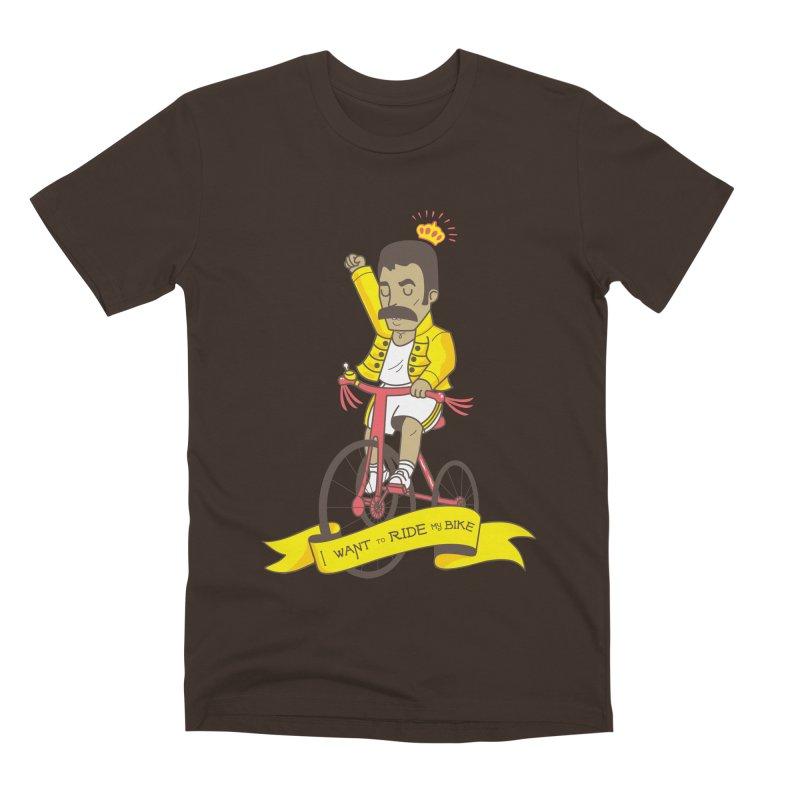 Queen Bike Men's Premium T-Shirt by Pepe Rodríguez