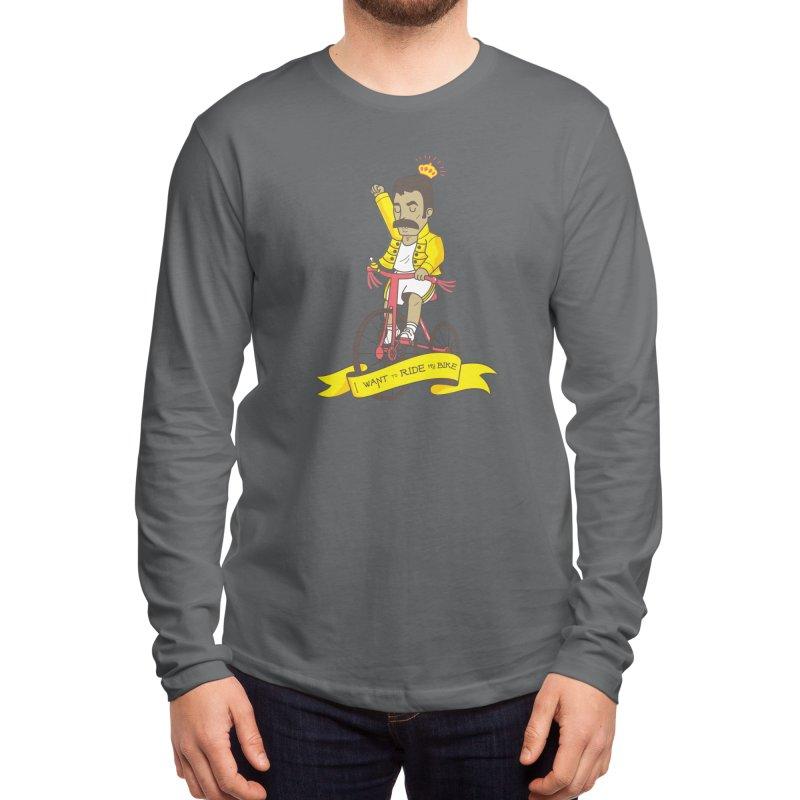 Queen Bike Men's Longsleeve T-Shirt by Pepe Rodríguez