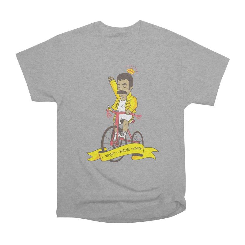 Queen Bike Men's Heavyweight T-Shirt by Pepe Rodríguez