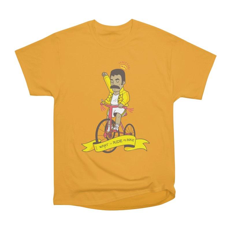 Queen Bike Women's Heavyweight Unisex T-Shirt by Pepe Rodríguez