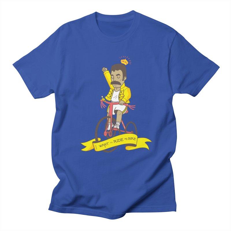 Queen Bike Men's Regular T-Shirt by Pepe Rodríguez