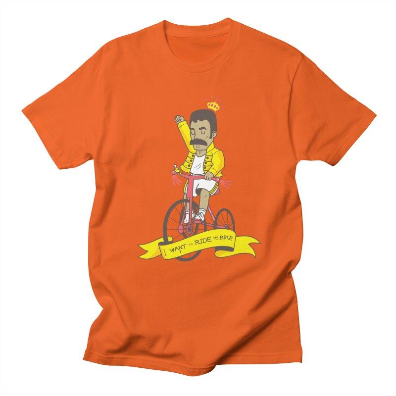 Queen Bike Women's Regular Unisex T-Shirt by Pepe Rodríguez