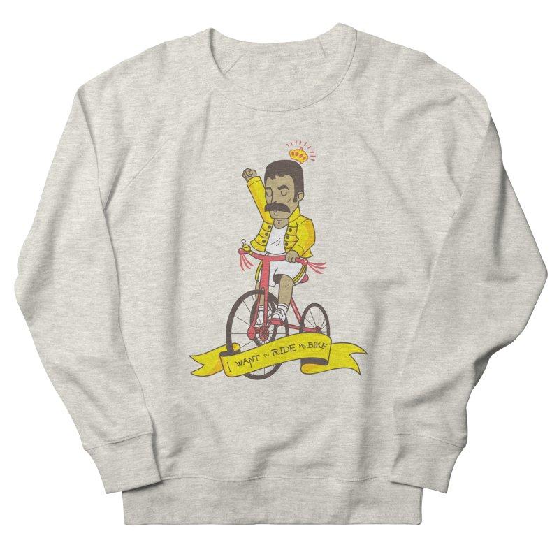 Queen Bike Women's French Terry Sweatshirt by Pepe Rodríguez