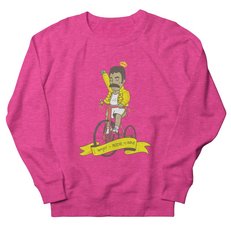 Queen Bike Men's French Terry Sweatshirt by Pepe Rodríguez