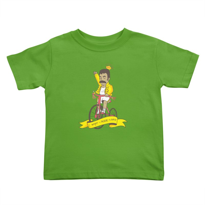 Queen Bike Kids Toddler T-Shirt by Pepe Rodríguez