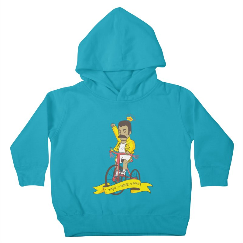 Queen Bike Kids Toddler Pullover Hoody by Pepe Rodríguez