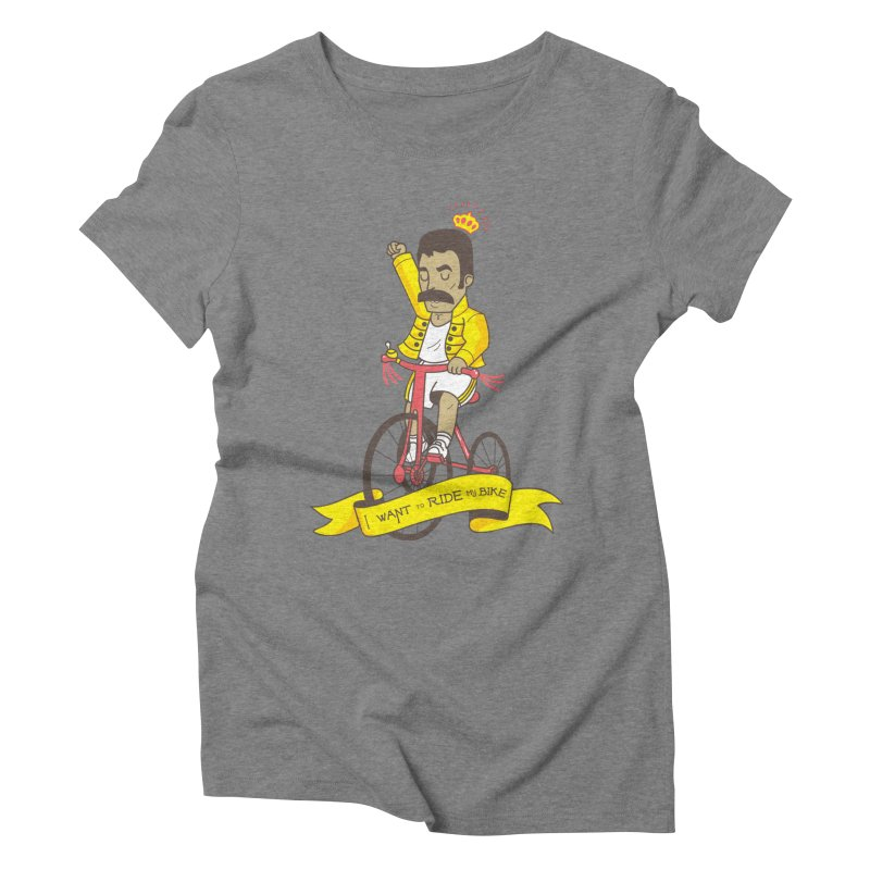 Queen Bike Women's Triblend T-Shirt by Pepe Rodríguez