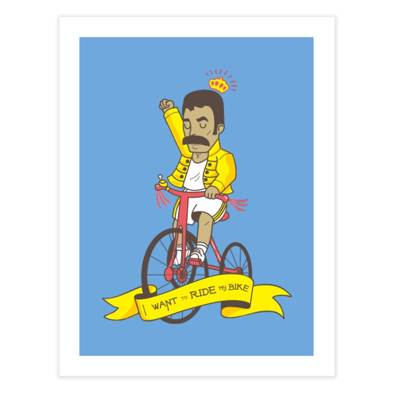 Queen Bike Home Fine Art Print by Pepe Rodríguez