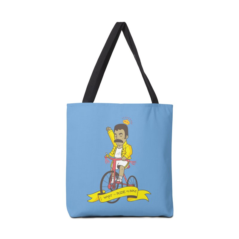 Queen Bike Accessories Tote Bag Bag by Pepe Rodríguez