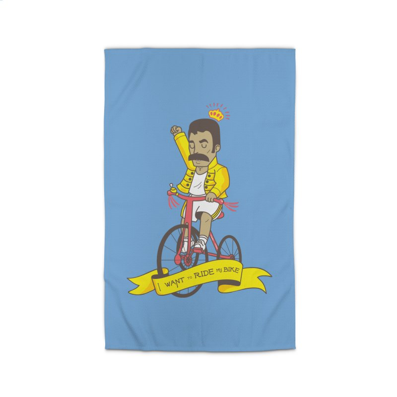 Queen Bike Home Rug by Pepe Rodríguez