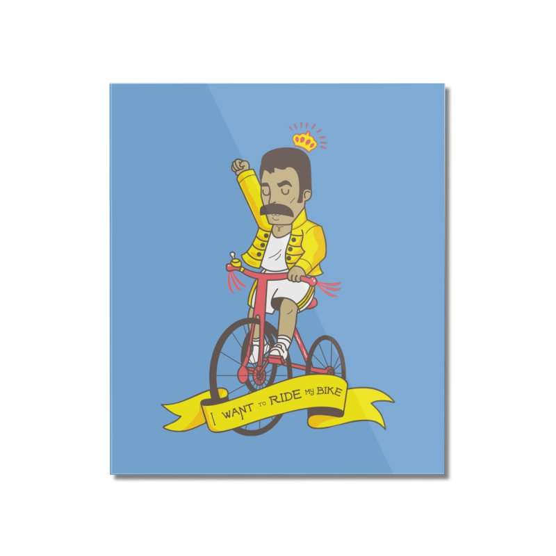 Queen Bike Home Mounted Acrylic Print by Pepe Rodríguez