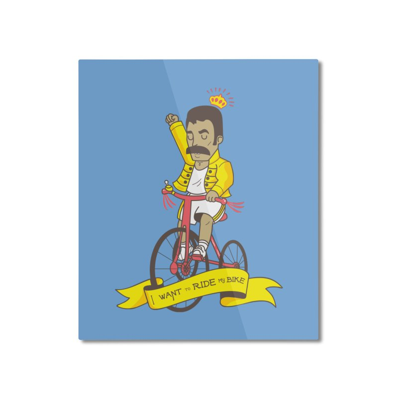 Queen Bike Home Mounted Aluminum Print by Pepe Rodríguez
