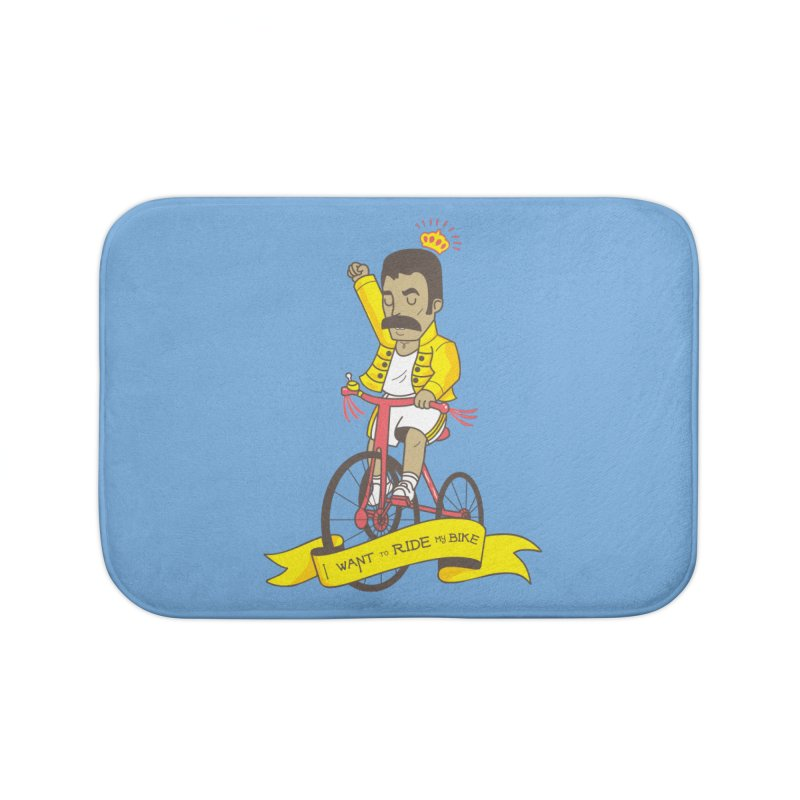 Queen Bike Home Bath Mat by Pepe Rodríguez