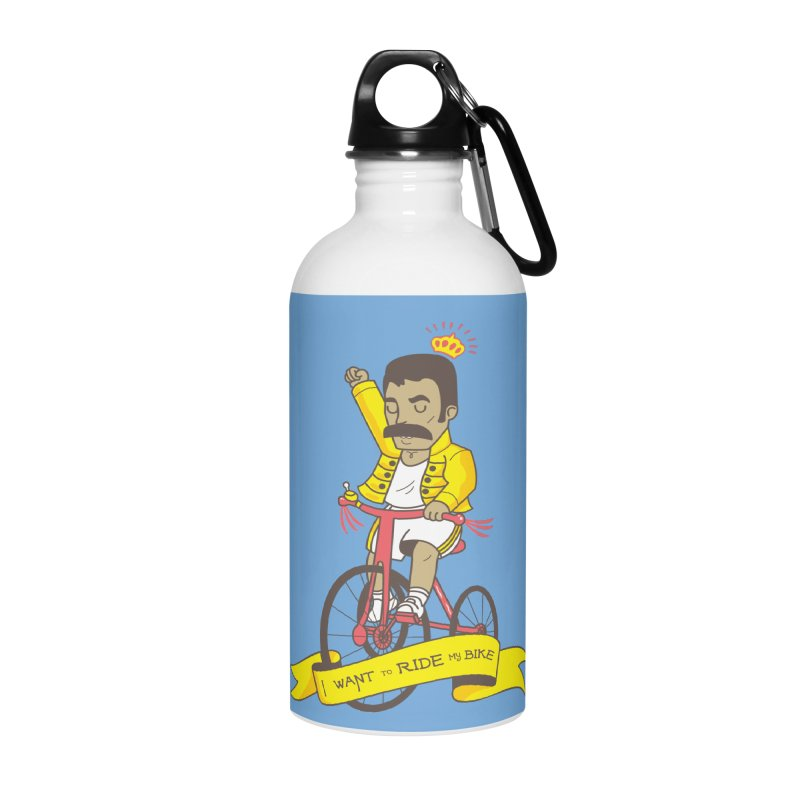 Queen Bike Accessories Water Bottle by Pepe Rodríguez
