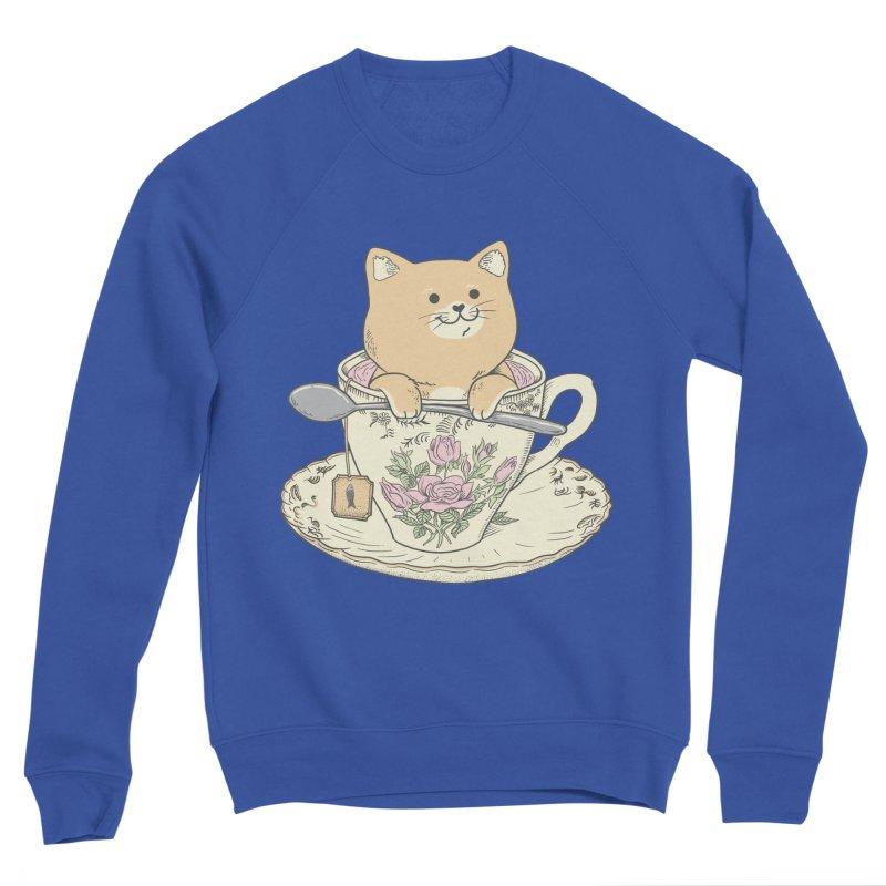 Tea Cat Time Women's Sweatshirt by Pepe Rodríguez
