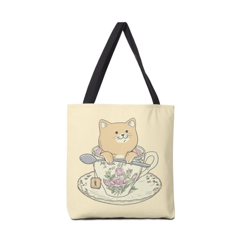 Tea Cat Time Accessories Tote Bag Bag by Pepe Rodríguez
