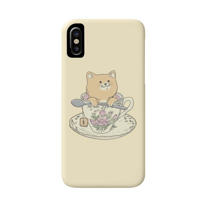 Tea Cat Time Accessories Phone Case by Pepe Rodríguez