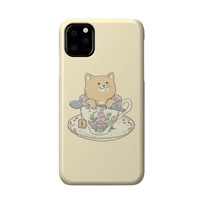 Tea Cat Time Accessories Phone Case by Pepe Rodríguez