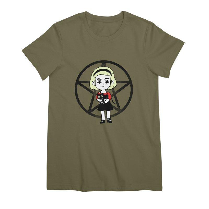 Sabrina and Salem Women's Premium T-Shirt by Pepe Rodríguez