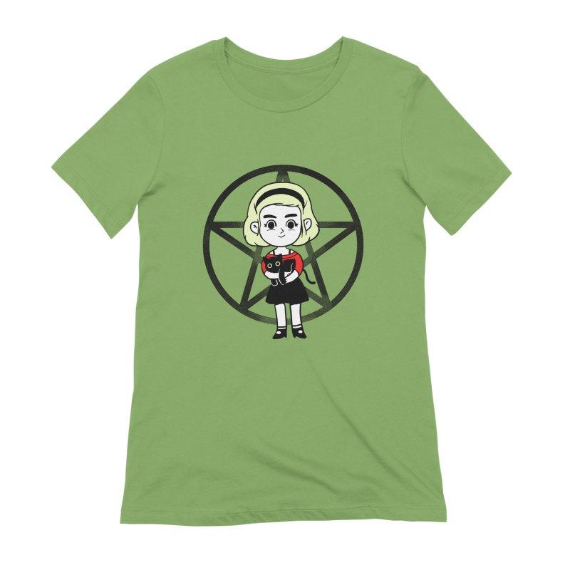 Sabrina and Salem Women's Extra Soft T-Shirt by Pepe Rodríguez