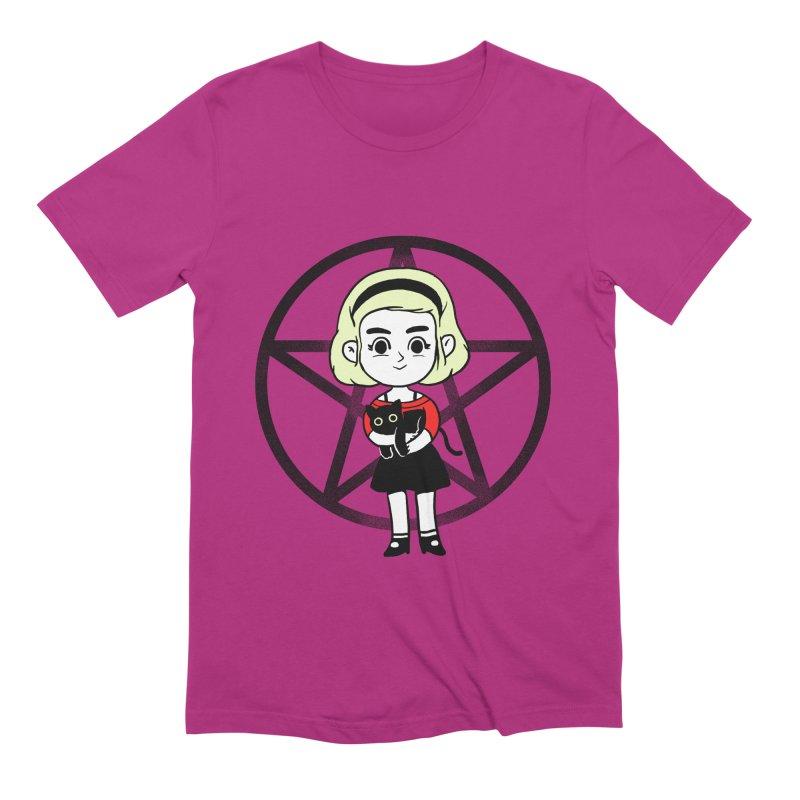 Sabrina and Salem Men's Extra Soft T-Shirt by Pepe Rodríguez