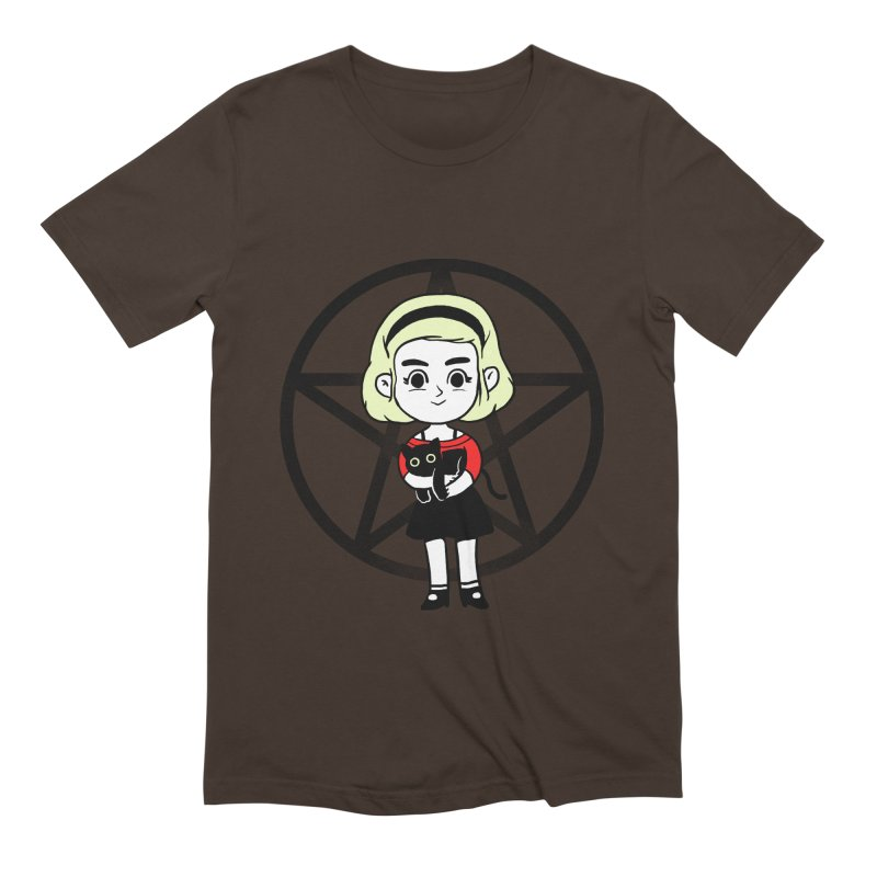 Sabrina and Salem Men's Extra Soft T-Shirt by Pepe Rodríguez