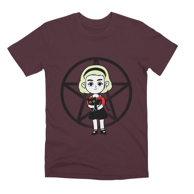 Sabrina and Salem Men's Premium T-Shirt by Pepe Rodríguez